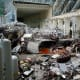 Damage in the generator hall. (AP Photo/ Rossiiskaya Gazeta Newspaper)