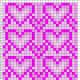 free-bead-loom-patterns-hearts
