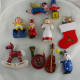 Wooden Vintage Christmas Tree Decorations
