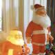 Outdoor Vintage Santa Decorations
