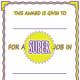 Super Job Printable Award