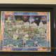 """FIREWORKS OVER WASHINGTON DC"", ROXY, serigraph-giclee on canvas,  201202 - Island Princess"