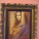 """""""LA FEMME LA DANSE"""", CSABA MARKUS, Hand embellished serigraph in color on wood panel; signed-2006, (Carnival Pride, 2008)"""