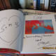 Peter Max's Autograph Inside His Book