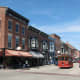 Part of downtown Galena, Illinois