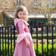Finished product, posing in front of France at Walt Disney World's EPCOT park, right where Belle belongs.