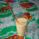 Ready to drink Guava Pineapple Smoothie.