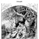 """illustration of Friedrich Schiller's """"Song of the Bell"""" - Ludwig Richter, 19th Century."""
