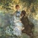 Lovers, by Pierre Auguste Renoir.  This is such a beautiful piece of art.  I love it.