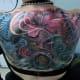 Back tattoo for girls