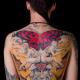 Large color back tattoo