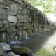 """Here is the little """"mini dam"""" that contributes to Hematite Lake, its very pretty when the water is trickling down it. Looks like a waterfall"""