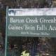 Trail entrance at Mopac Barton Creek Twin Falls Greenbelt Trail Austin TX