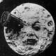 The 1902 movie A Trip to the Moon also used comedy.