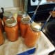 Step 24: Add each of your jars to the water bath canner.