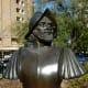 Alvar Nunez Cabeza de Vaca Sculpture