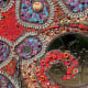 """Closeup of Blood Relations by Marsha Dorsey-Outlaw on the """"Obstacle Art Path"""""""