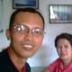 Travel Man with Mrs. Miriam Banzuela of Manito Tourism Council (Photo taken Sept. 24, 2010 by Ireno Alcala -that's me!)