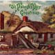 An Irish homestead in Bray, Ireland vintage St. Patrick's Day postcard