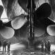 Huge propellers of Titanic