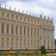 The South Wing photographed across the formal gardens of Versailles