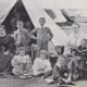 Afrikaners in British Concentration Camp (1900)