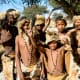 Xhosa boys wearing traditional clothes