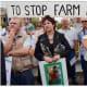 Modern Afrikaners protesting against farm murders