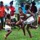 Modern Xhosa children attending a traditional function