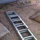 The ladder sections come in a bundle-- a short one for the first ring, and longer ones for the main body of the bin.