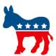 Election clip art: Democratic donkey