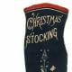 Free vintage Christmas stocking image