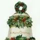 Free vintage Christmas bell image