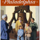 Philadelphia vintage travel poster -- Pennsylvania Railroad