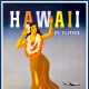 Vintage Hawaiian posters: Hula girl