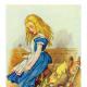 """""""Alice Upsets the Jury Box"""" by John Tenniel"""