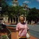 My mother on Main Street USA