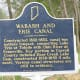 Wabash and Erie Canal historic marker