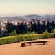 Overlooking Portland and Mt. Hood from the Portland Japanese Garden