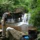 Thw waterfalls in Kirirom