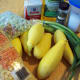 Ingredients for succotash and mashed squash.