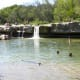 Mckinney Falls State Park Lower Falls Great swimming - Austin TX