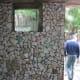 waste ceramic tiles in use