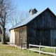 This barn sports a roof dormer which provides added ventilation.