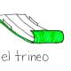 Sled in Spanish
