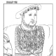 """Page from the """"Classical Renaissance Art Coloring Book"""""""