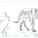 Thumbnail Sketch 3.  This is the one I chose for the book illustration.