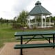 Gazebo and Picnic Tables