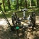 Horse-drawn mower