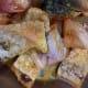 Rohu fish marinated